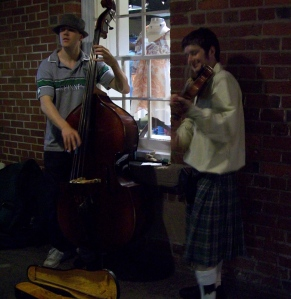 Fiddlers au marché