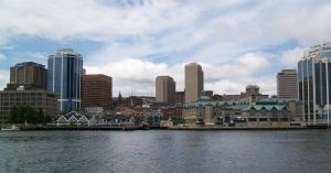 Vue de Halifax à partir du ferry.