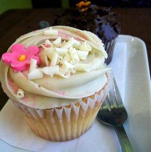 Cupcake au thé vert