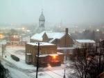 Ce matin, tempête de neige pour quelques minutes !